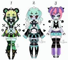 Zombie doll adoptable Closed by AS-Adoptables.deviantart.com on @DeviantArt