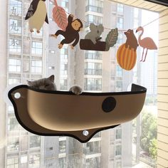 Home & Garden 100% Quality Diy Decoration Bird Cage Durable Suction Cup Parrot Wall-mounted Warm Easy Install Garden Cabin Shape Spy Window One Way Mirror Pet Products