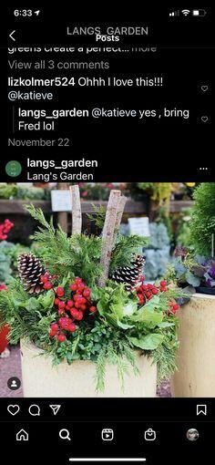 Winter Porch Decorations, Holiday Decor, Porch Decorating, Christmas Wreaths, Garden, Home Decor, Balcony Decoration, Garten, Decoration Home