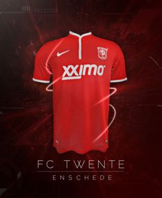 FC Twente Jersey Graphic - By Ron Kroeze