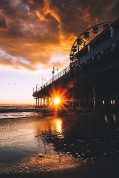 "souhailbog: "" Santa Monica Vibes By Imthejam """