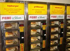 Burger Vending Machine In Netherlands