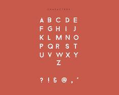 Bizon Font Letters #freefonts #fontsfordesigners