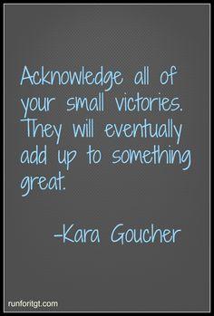 Great Quote from Kara Goucher