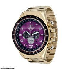 Vestal ZR-3 Watch - Gold/Purple/Polish ZR3016 - Extreme Supply