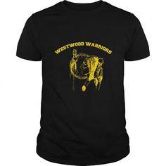 I Love Westwood Warriors T shirts
