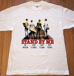 Stand By Me River Phoenix 80s Film T Shirt New by RockRoyalTees