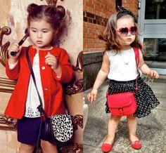 Мода и стиль: Модные дети в Instagram: Ариела Самойлова