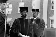 Emperor Haile Selassie receives an honorary degree at Howard University