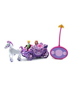 Look at this #zulilyfind! Disney Sofia Remote Control Royal Carriage Set by Sofia the First #zulilyfinds