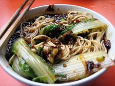 Breakfast in China – a lot like lunch and dinner in China. Expect noodles, rice, sticky coated chicken and fried veggies.