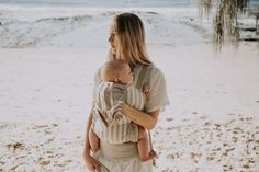 Snap Baby Carrier / Natural Stripe Baby Carriers, Earth Tones, Wrap Style, Breastfeeding, Lifestyle, Couple Photos, Natural, Beautiful, Couple Shots