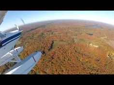 Discover the fall foliage around Parry Sound by seaplane with Georgian Bay Airways