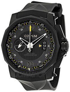 Corum Admirals Cup Chronograph Titanium Grey Dial Mens  Watch 960101940371-AN12 $5445