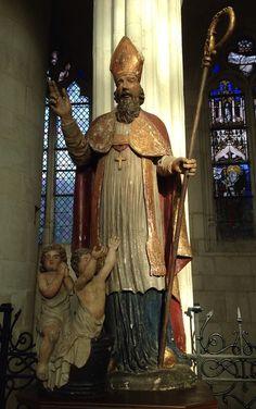 Saint nicolas beeld in la basilique de saint nicolas de port met dank aan johanneke - Basilique de saint nicolas de port ...