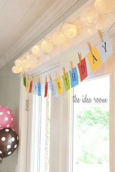 Create a Happy Birthday banner using your Silhouette