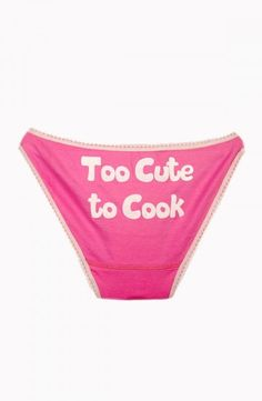 "PrettySecrets Be Cheeky ""Too Cute"" Bikini Price: Rs. 299"
