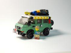 Legos, Lego Van, Lego Camper, All Lego, Lego Lego, Vw T3 Syncro, Lego Furniture, Lego Truck, Micro Lego