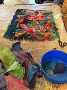 Studio 907: No Roll Felting - Dryer Method