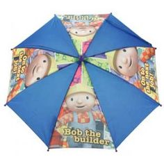 Children's Character Umbrella - Bob the Builder. Can we fix it? I'll nail a bit of ply over it and come back when I have nothing better to do...how does that sound?