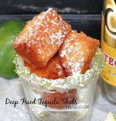 Deep-fried tequila shots begin social media craze, fried lattes, fried sweet tea?