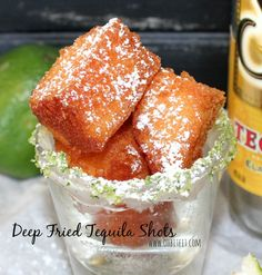Deep-fried tequila shots begin social media craze, fried lattes, fried sweet tea?