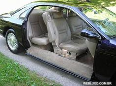 WEBLUXO - Autos de luxo: Portas deslizantes para carros - Disappearing Car Door
