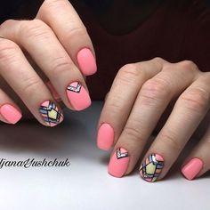Дизайн ногтей тут! ♥Фото ♥Видео ♥Уроки маникюра Indian Nails, Nail Arts, Nail Designs, Beauty, Ongles, Nail Desings, Nail Art, Beauty Illustration, Nail Design