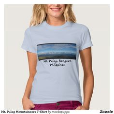 Mt. Pulag Mountaineers T-Shirt