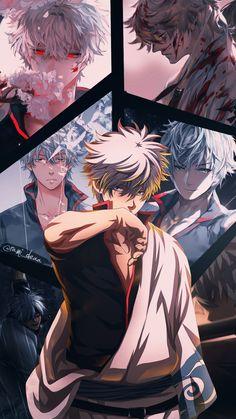 Manga Anime, Anime Demon, Anime Art, Cute Anime Guys, I Love Anime, Gintama Funny, Gintama Wallpaper, Animes Wallpapers, Tokyo Ghoul