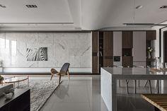 森林綠意 - 京悅.實品屋 | Design IDK Decor Home Living Room, Living Room Modern, Living Room Interior, Home Bedroom, Luxury Interior, Home Interior Design, Living Room Tv Unit Designs, Hotel Room Design, Panelling