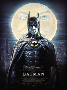 Secret Movie Club LE poster for 2020 midnight screening. Batman Poster, Batman Artwork, Batman Wallpaper, Batman Vs Superman, Joker Dc Comics, Dc Comics Art, Michael Keaton Batman, Tim Burton Batman, Batman Pictures