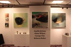 Discover up & coming young artists by visiting the Nova Scotian College of Art & Design gallery    http://www.MervEdinger.com