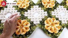 Crochet Mandala Pattern, Crochet Doilies, Crochet Flowers, Crochet Patterns, Crochet For Kids, Free Crochet, Knit Crochet, Crochet Flower Tutorial, Newborn Crochet