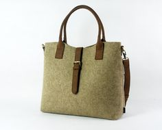 Felt Shoulder Bag Messenger Bag Handbag Hand Bag Ladies Bag Casual Bag Cross Body Buckle Bag E1753-MCa01