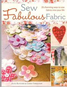 Sew Fabulous Fabric - Aga An - Álbuns da web do Picasa... Free book!