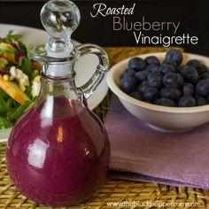 Roasted Blueberry Vinaigrette text