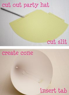Oink! The Blog » {tutorial} lil' party hat