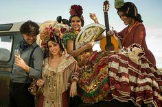 Menta y Canela | Moda Flamenca por Elena Rivera vía Mamá de Mayor Quiero Ser Flamenca.