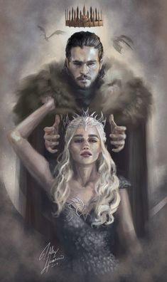 Game of Thrones fan art, Daenerys Targaryen, Jon Snow, Jonerys Dessin Game Of Thrones, Game Of Thrones Drawings, Arte Game Of Thrones, Game Of Thrones Artwork, Game Of Thrones Fans, Game Of Thrones Stuff, Game Of Thrones Characters, Jon Snow And Daenerys, Game Of Throne Daenerys