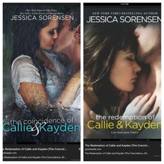 Jessica Sorensen~ #1- The coincidence of Callie and Kayden...#2- The redemption of Callie and Kayden! Just finished the first book, can't wait for the next one to come out in August!!! ⭐⭐⭐⭐⭐ Must Read!!!