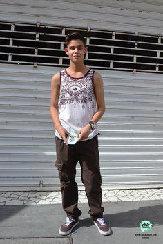 Osma Tank Man, Street Style, Chic, Mens Tops, Fashion, Elegant, Fashion Styles, Street Chic, Fashion Illustrations