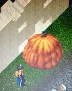Giant pumpkin Giant Pumpkin, Paradise Found, Pvp, Product Launch, Deco, Painting, Painting Art, Decor, Paintings