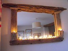 ECOFRAMED Driftwood mirror