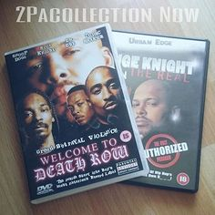 We feel the mad love from @2pacollectionnow with this #Repost   Welcome To Death Row & Suge Knight On The Real (DVD)  #deathrowrecords #myownstuff #hiphop #snoopdoggydogg #drdre #snoopdogg #2pac #tupac #amaru #shakur #2pacollectionnow #wtdr  @welcometodeathrow