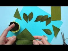 Papetal - Introduction to Paper Flowers - LEAF - YouTube