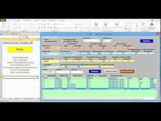 1_Lagerprogramm in Excel VBA selber erstellen. Excel-Arbeitsmappe mit Makros erstellen - YouTube
