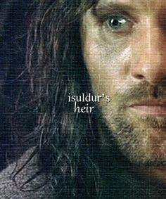 """He is Aragorn, Son of Arathorn. Heir to the throne of Gondor. You owe him your allegiance. Aragorn, Gandalf, Legolas, Arwen, Fellowship Of The Ring, Lord Of The Rings, O Hobbit, Between Two Worlds, Viggo Mortensen"