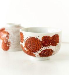 Vintage Japan Teacups Porcelain by TheOtherLifeVintage on Etsy, $11.00