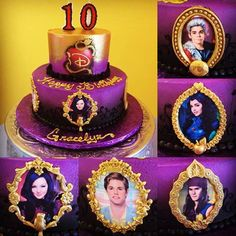 descendants cake - Google Search